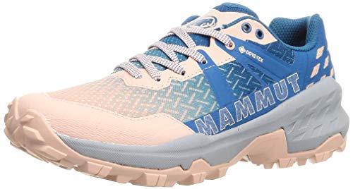 Mammut Women's Running/Jogging Trail Running Shoe , Evening Sand Sapphire , 7.5 US
