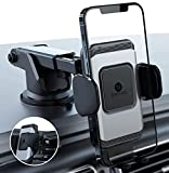 ZeeHoo Wireless Car Charger,10W Qi Fast Charging Auto-Clamping Car Mount,Windshield Dash Air Vent Phone Holder Compatible iPhone 12/Mini/11/11 Pro/XS/XR/X/8,Samsung S20/S10/S9/S9+/S8/Note10/9(Sliver)