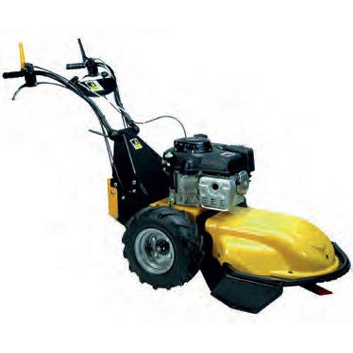 Roques & Lecoeur 1400DIFFH Desbrozadora profesional con ruedas, motor Honda GXV340, 4 velocidades (de 2,4 a 5 km/h), 1 marcha atrás con inversor instantáneo, anchura de trabajo: 65 cm