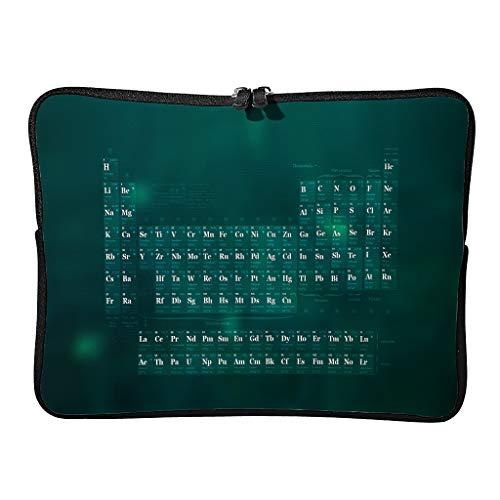 Normal sistema Periódico de Elementos, funda para portátil bonita y ligera – Fundas para tabletas de ciencia adecuadas para viajeros