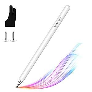 WOEOA Stylus Penna, Penna Touch Pennino Tablet Penna per iPad Tablet Punta Fine Universale con Artist Guanto per iPad…