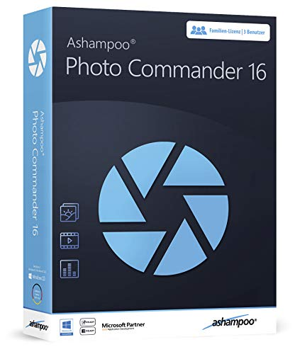 Photo Commander 16 - Bildbearbeitung in Deutsch, Fotos bearbeiten für Windows 10, 8.1, 7