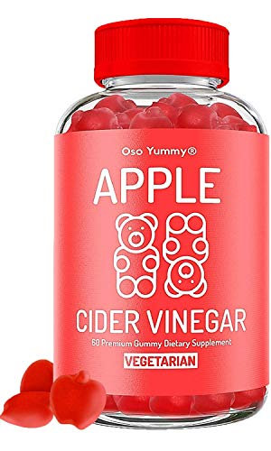 (2X POWER) Organic Apple Cider Vinegar Gummies | Raw Apple Cider Vinegar with The Mother, Unfiltered AVC Gummies| Digestion, Immune Boost, Bloating Relief for Women | Pure Apple Vinegar Gummy Vitamins