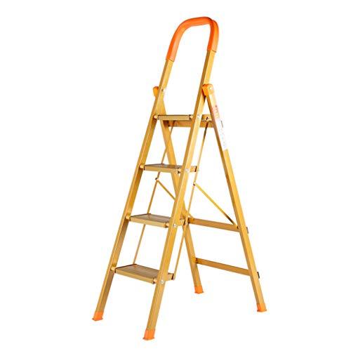 Escabeau d'escalier en métal de ménage Tabouret d'escalier pliant d'escalier en métal Escabeau