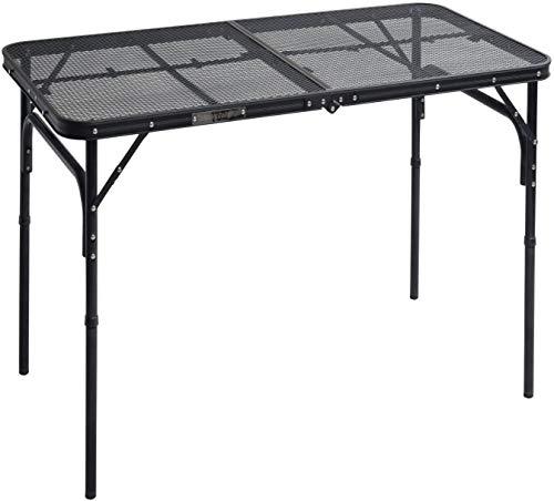 キャンパーズコレクション タフライトテーブル(幅120奥行60cm) TLT-1260(MBK)