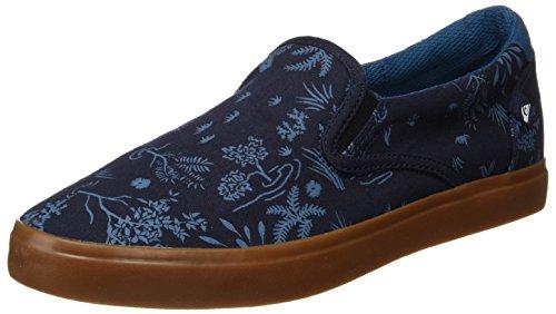 Quiksilver Herren Shorebreak Slip Pantoffeln, Mehrfarbig (Blau/Blau/Braun), 39 EU