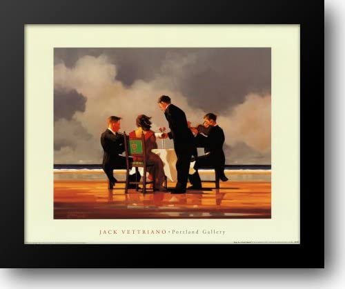 Elegy for a Dead All items in the store Admiral 24x20 Vettriano Ja 2021 spring and summer new Print by Framed Art