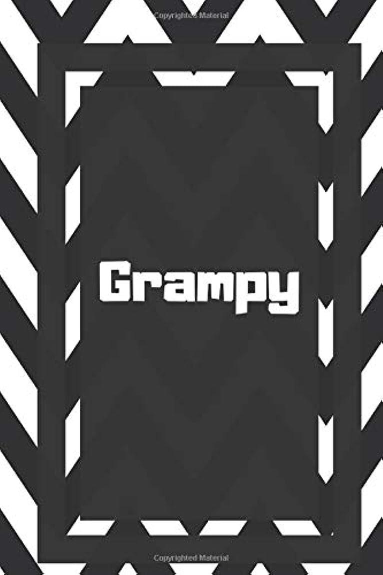 流用する奇妙な声を出してGrampy: Grandpa Gifts For Grandfather Grandad Gramps Grampy Journal Lined Notebook To Write In