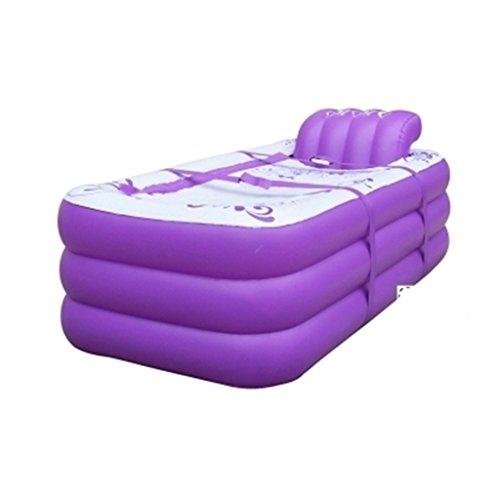 Piscine pour enfants Baignoire gonflable Baignoire plus épaisse pour adultes Baignoire de bain isolante matelassée Baignoire pliante surdimensionnée Accueil ( Couleur : A )