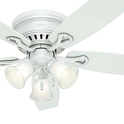 "Hunter Fan 52"" Flush Mount Ceiling Fan"
