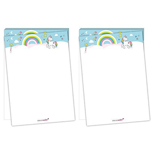 Liefde. Detail DIN A5 Kladblok - 50 Vellen Eenhoorn, DV 101 voor alle maten van Liefde Kleine Meisjes Eenhoorn Kladblok Schrijven Pad Papier Schrijven Pad Eenhoorn # in Detail