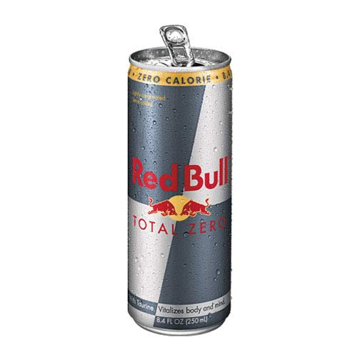 Red Bull Total Zero Calories Energy Drink - 250ml |Pack of 12 Cans