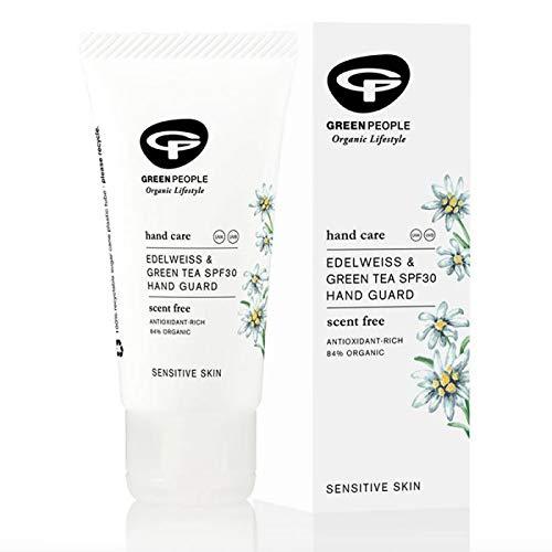 Skin by Green People Edelweiss & Green Tea Hand Guard SPF30 50ml