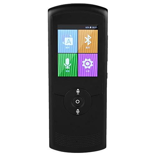 Garsent Sprachübersetzer, 2,4 Zoll Tragbares WiFi Smart Voice Translator Unterstützung Echtzeit Übersetzungsgerät 42-sprachiger für Lernen und Reisen