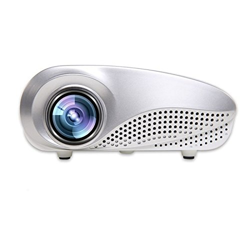 Cebbay Mini Home Multimedia Cine LED Proyector HD Soporte AV TV VGA USB HDMI SD