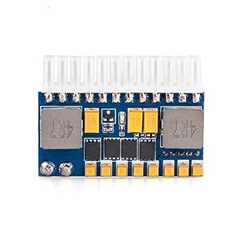 RGEEK 24pin DC ATX PSU 12V DC Input 250W Peak Output Switch DC-DC ATX Pico PSU Mini ITX PC Power