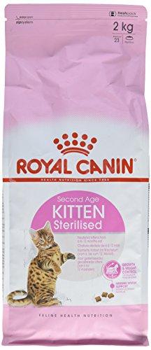 Royal Canin - Chaton Stérilisé Dès 6 Mois - Sac de 2 Kg