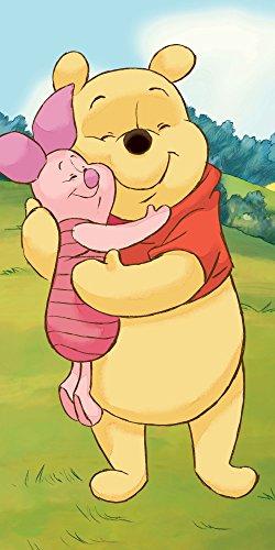 Disney Winnie The Pooh Badetuch Strandtuch Duschtuch 70 x 140cm