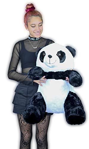 ML Oso Panda de Peluche tamaño Gigante 60cm Osos con Felpa Suave y Piel abundante y Sedosa (tamaño Gigante) 60cm Regalo para el Dia de los Enamorados
