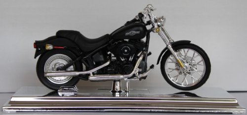 Motorrad Modell Harley Davidson 2008 FXSTB Night Train - Maisto 1:18