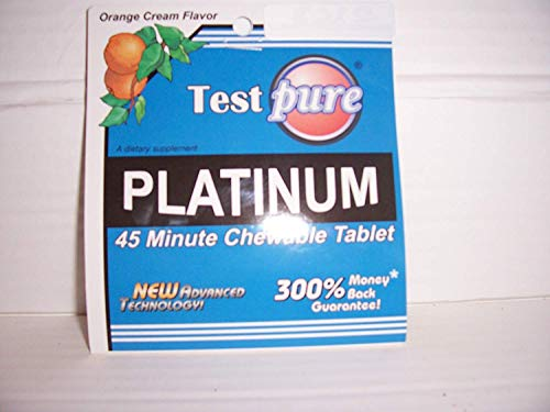 Test Pure Platinum 45 Minute Chewable Tablet 1 Pack