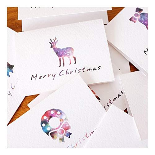 ZHOUBIN Biglietti di auguri splendidamente piegati molti stili biglietti di auguri carte di Capodanno benedizione degli innamorati genitori del Ringraziamento Generale 4 fogli set