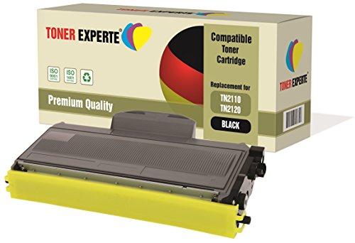 TONER EXPERTE® Compatible TN2110 TN2120 Cartucho de Tóner Láser para Brother DCP-7030, DCP-7040, DCP-7045N, HL-2140, HL-2150, HL-2170, HL-2170W, MFC-7320, MFC-7340, MFC-7345DN, MFC-7440N, MFC-