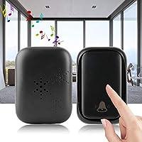 XYUANG Wireless Doorbell Kit Self-generating Transmitter & Receiver 58 Chime Door Bell Home Security smart door bell