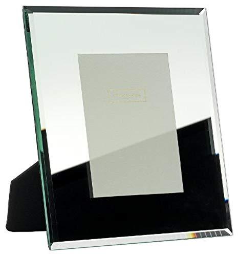 Addison Ross - Cornice portafoto in Vetro specchiato, 10x15 cm, smussato 8 mm
