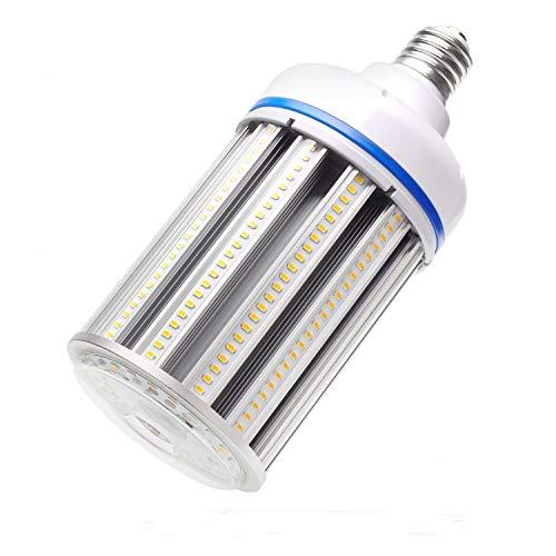 120W LED Corn cob Light Bulb,Large Mogul Base E39 LED Bulb,5000K AC110-277V,LED Replacement 600W Metal Halide HID HPS for steet Area Warehouse Parking lot High Bay Canopy shoebox Fixture (120)