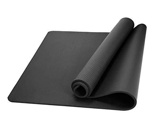 WLWW Estera de Yoga Ultra-Gruesa Pilates Gimnasia Ejercicio cómodo Es