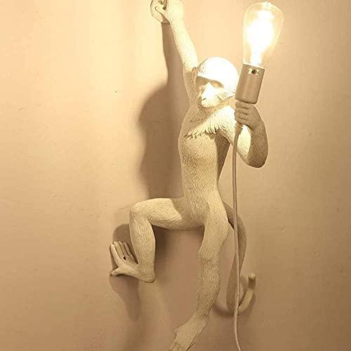 YUSHIJIA Apliques Lámpara de Pared de Mono Dirección Derecha Mono Mono Sconce LED Luz de Pared Mono Mono Mono Lámpara de Pared (Color: Blanco) lámpara de Pared