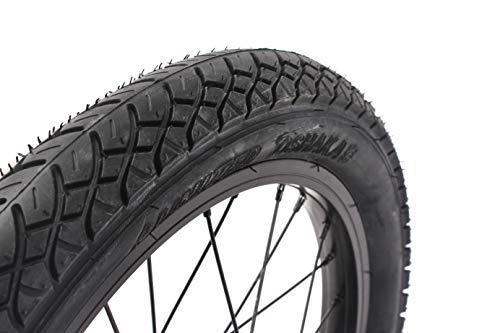 KHE x United - Copertone BMX Freestyle da 16', 600 g, colore: Nero