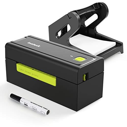 Inateck 4x6 Stampante Termica per etichette(100 mm*150 mm), velocità di 150 mm s, con supporto, 50 etichette termiche, penna per pulizia, PR02001