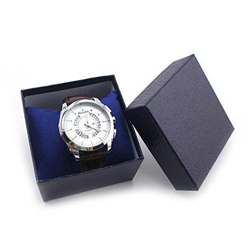 LSAltd Langlebig vorhanden geschenkbox Fall für Armband armreif schmuck Uhr Box