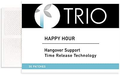 Trio Happy Hour Hangover Patches w Blended Vitamins to Prevent Cure Any Hangover product image