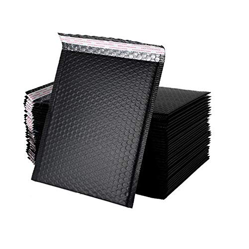 Sobres autoadhesivos con burbujas paquete de 16 sobres acolchados impermeables, sobres con burbujas de polietileno, sobres acolchados autoadhesivos, bolsas de envío a prueba de golpes (13 * 18cm)