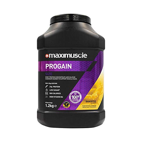 MAXIMUSCLE Progain Protein Powder Banoffee Flavour,1.2 kg
