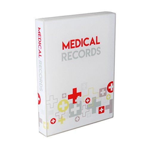 UniKeep Medical Records Journal (White)