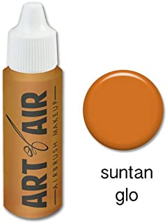 Art of Air Airbrush Makeup - Foundation 1/2oz Bottle Choose Color (Suntan Glo)