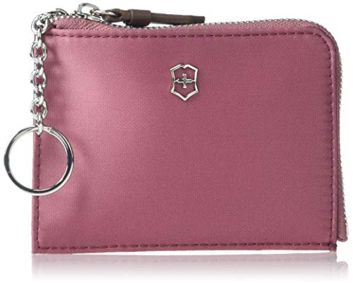 Victorinox Women's Victoria 2.0 Key Holder Continental Wallet with RFID Protection, Cassis, 3.1-inch