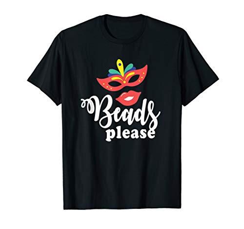 Perlen bitte - Karneval-Maske T-Shirt