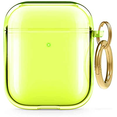 for Airpods Case Cover Silicone, Full Protective with Keychain 006