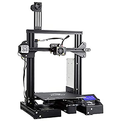 Official Creality Ender 3 Pro 3D Printer with Magnetic Removable Build Surface Plate and UL Certified Power Supply DIY FDM 3D Printer by Beruna 220x220x250MM
