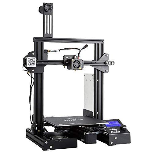 Creality Ender 3 Pro DIY de aluminio con impresión de hoja de currículum (220 x 220 x 250 mm)
