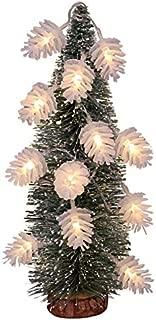 Sixpi Christmas Decoration LED String Fir Cone Shape Christmas Lights Christmas Decorations Set Santa Hat Chair Covers Christmas Balls Ornaments
