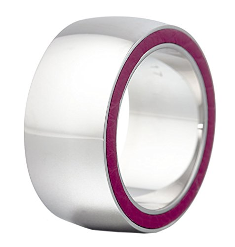 Esprit Collection Damen-Ring Edelstahl rhodiniert Persephone Pink Gr.54 (17.2) S.ELRG12117B170