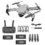 SWETIY Drones, RC Drone con Cámara 4K, Dual Cámara...