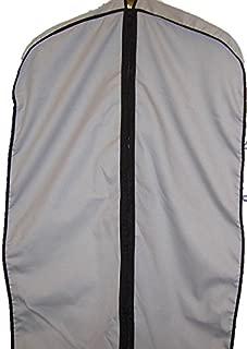 """TUVAINC Breathable Cotton Cloth Fur Coat & Suit/Dress Garment Bag, 45"""", Grey"""