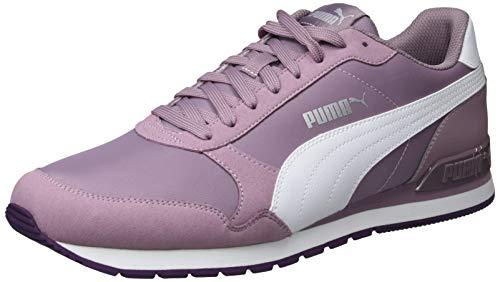 Puma Unisex-Erwachsene St Runner V2 Nl Fitnessschuhe, Violett (Elderberry-Puma White-Indigo 16), 40.5 EU